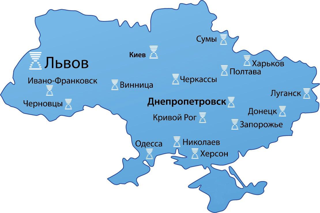 Компания Эмет открыла новое представительство в городе Львов на Emet - фото map_ukraine