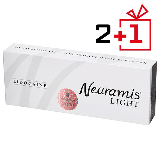 Филлер Neuramis Light Lidocaine — 2+1 на Emet - фото №1
